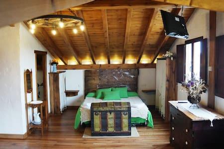 Habitación tipo Suite con Sauna - Olmos de Atapuerca - Talo