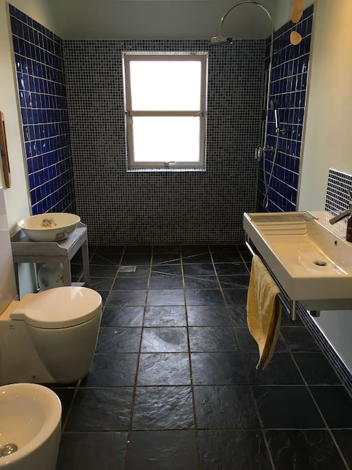 Wetroom for guest use