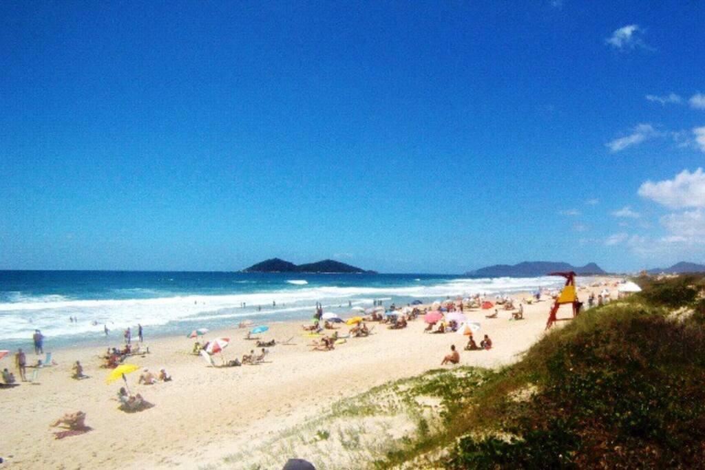 Essa é a praia que temos acesso andando apenas 13 minutos. Praia do Novo Campeche