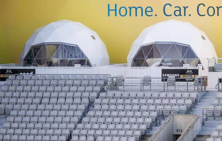 Samsung Dome 2 Staydium Glamping at Eden Park