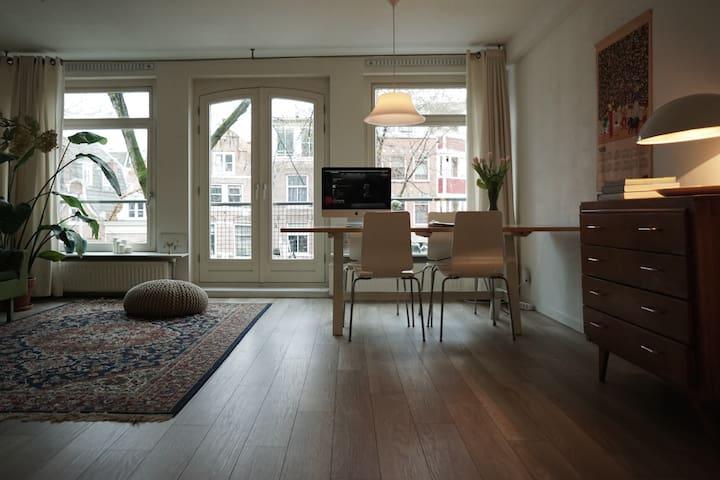 Spacious apartment close to the Anne Frank House! - Amsterdam - Wohnung