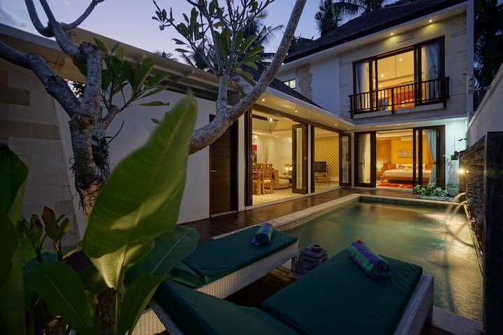 Ubud's 2BR Private Pool Villa Peaceful Ambience