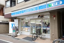 """""""LAWSON """" convenience store from my place, it takes 2 minutes to walk"""