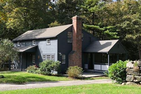 Historic Weston Farmhouse - 1 Hr from NYC