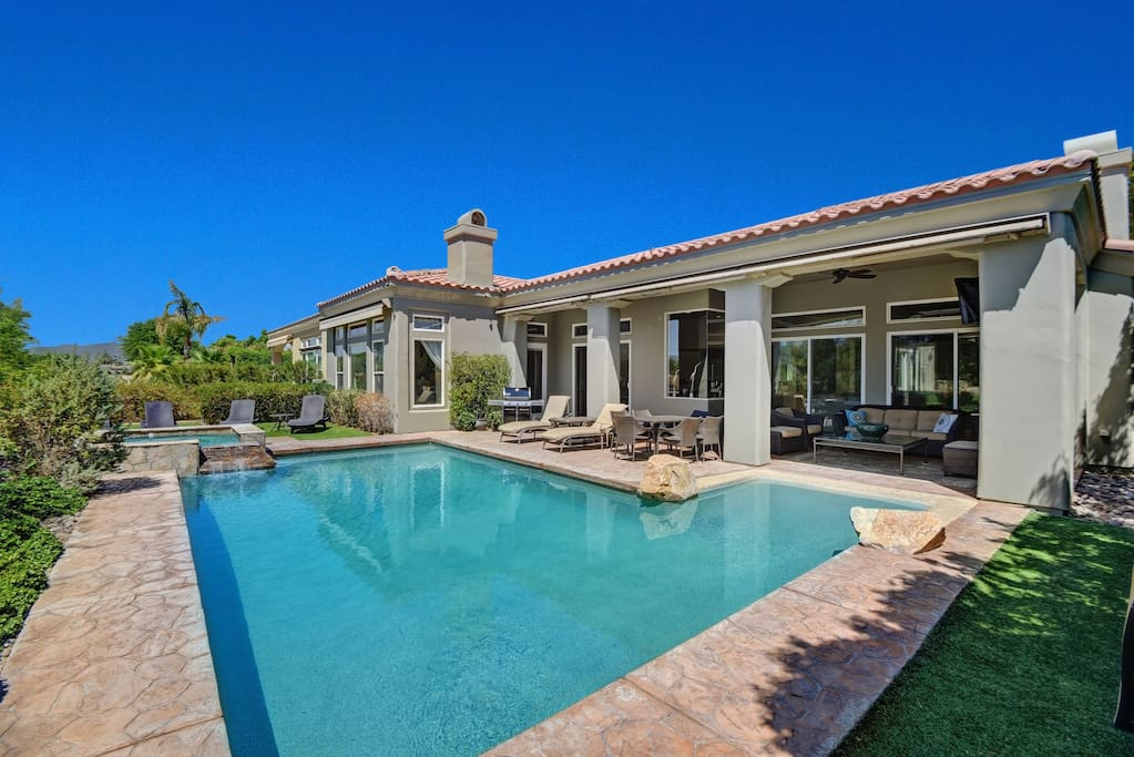 Million dollar home pga west 4br 5ba pool spa houses for Million dollar homes in la