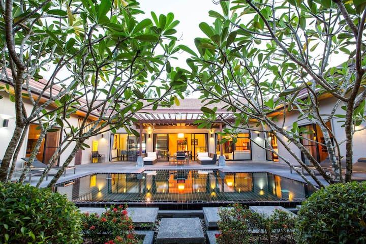 beautiful peace villa