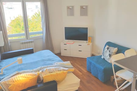 Просторная квартира-студия - кухня, интернет