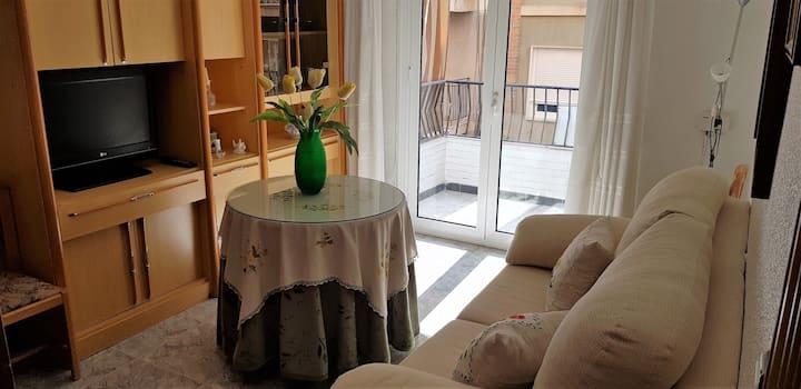 Bonito apartamento céntrico, tranquilo y acogedor