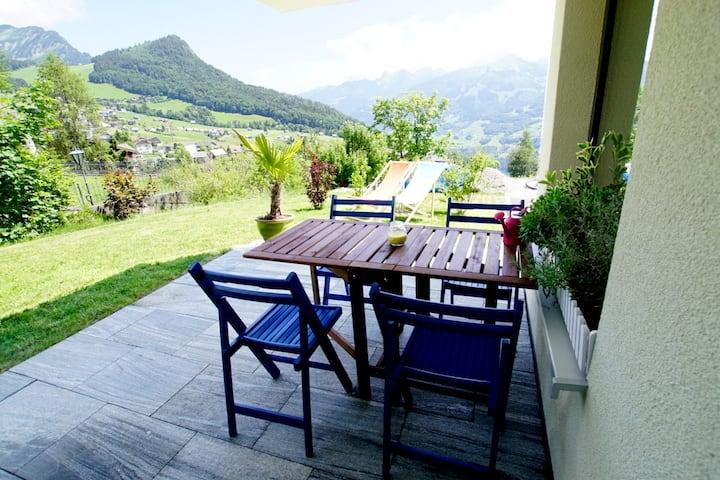 Apartment Bijou am Bach, (Amden), FA056, Ferienwohnung / 1 Schlafzimmer / max. 4 Personen