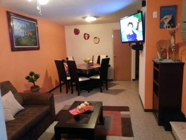 Alojamiento 2 pisos o para negocios con internet.