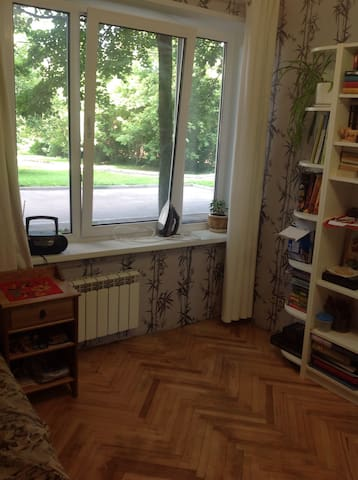 Separate room in apartments near Tsaritsino park - Москва - Huoneisto