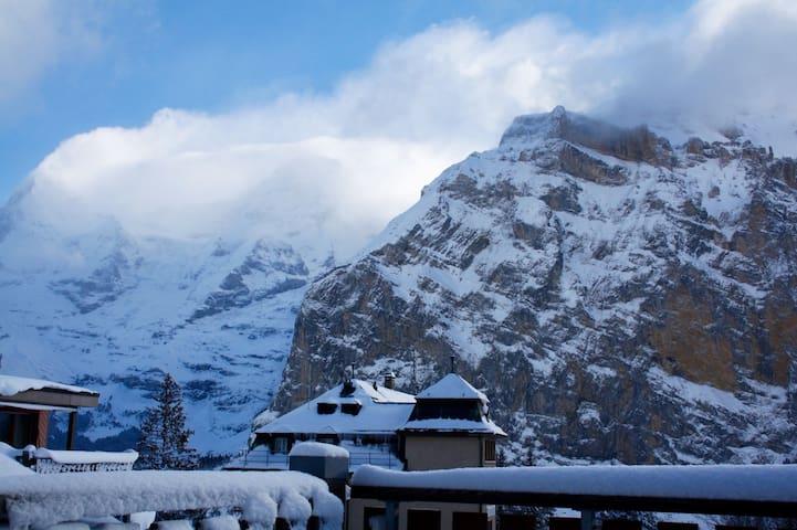 Wohnung mit sehr schöner Bergsicht
