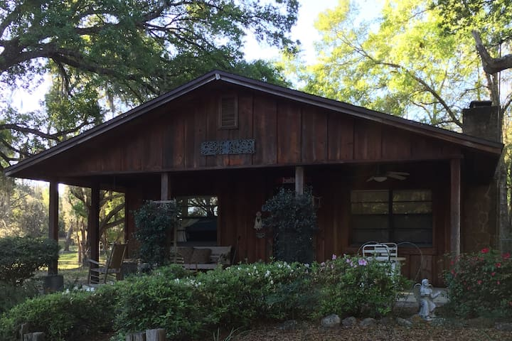 Cozy cabin with antique furniture. - Ocklawaha - Cabaña