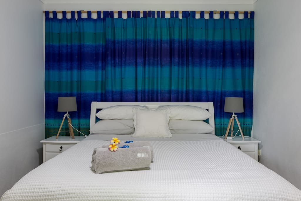 Quality Sheridan sheets and towels to make your stay more comfortable.