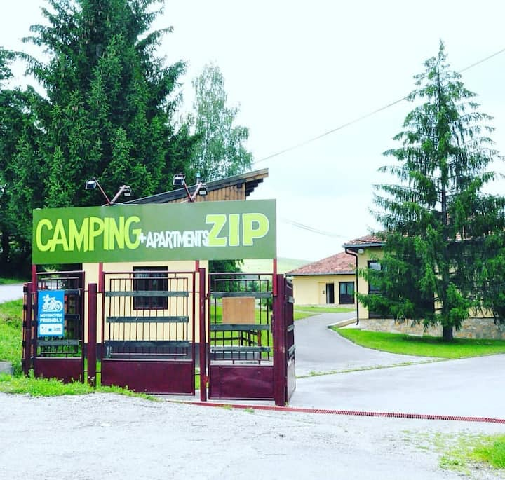 Apartments&Camping ZIP  ❥ Cozy Studio / Enjoyment✔