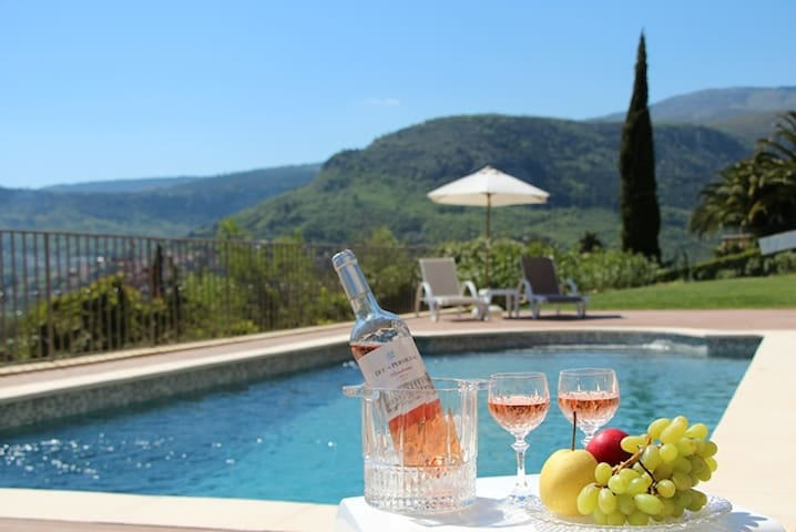Villa Mirena Chambre Hibiscus Panorama Piscine
