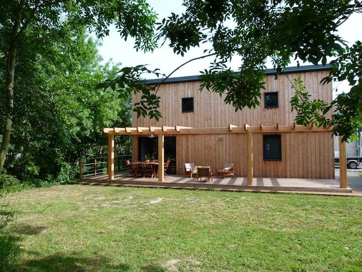 Maison bois au cœur du Marais Poitevin
