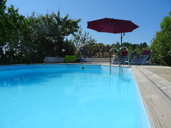 Apartment with 2 bedrooms in Saint-Pierre-Lafeuille, with private pool, enclosed garden and WiFi - 280 km from the beach