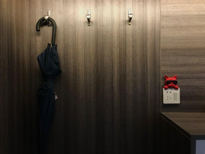 【龙达觉萨】万达广场/大床/榻榻米/现代简约精品公寓民宿