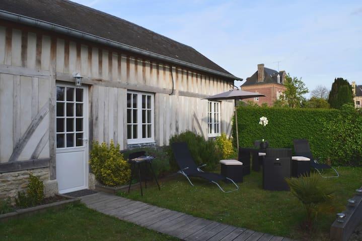La charmante Normande à 7km de Deauville-Trouville - Canapville - Дом