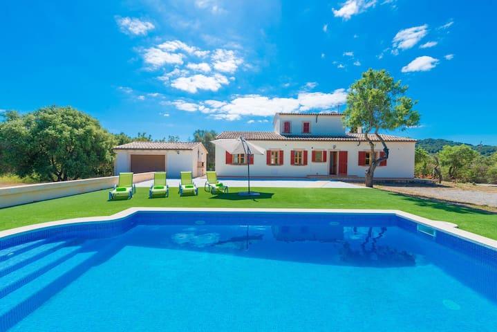 CAN BERNAT - Villa for 8 people in SON SERVERA.