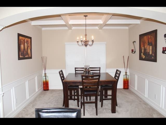 Beautiful Spacious Master Rental Home - Grovetown - Casa
