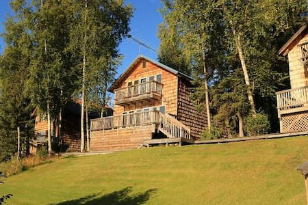 Cabin Style Condo on the secluded Loon Lake - Soldotna - 公寓