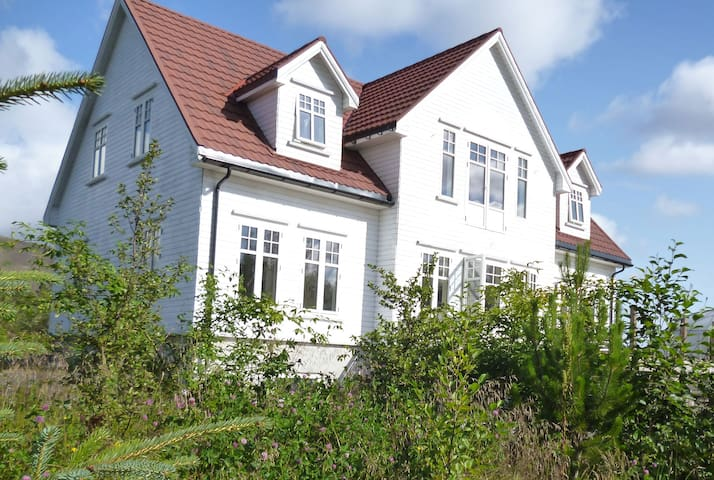 Iceland Villa in the countryside near Reykjavik.
