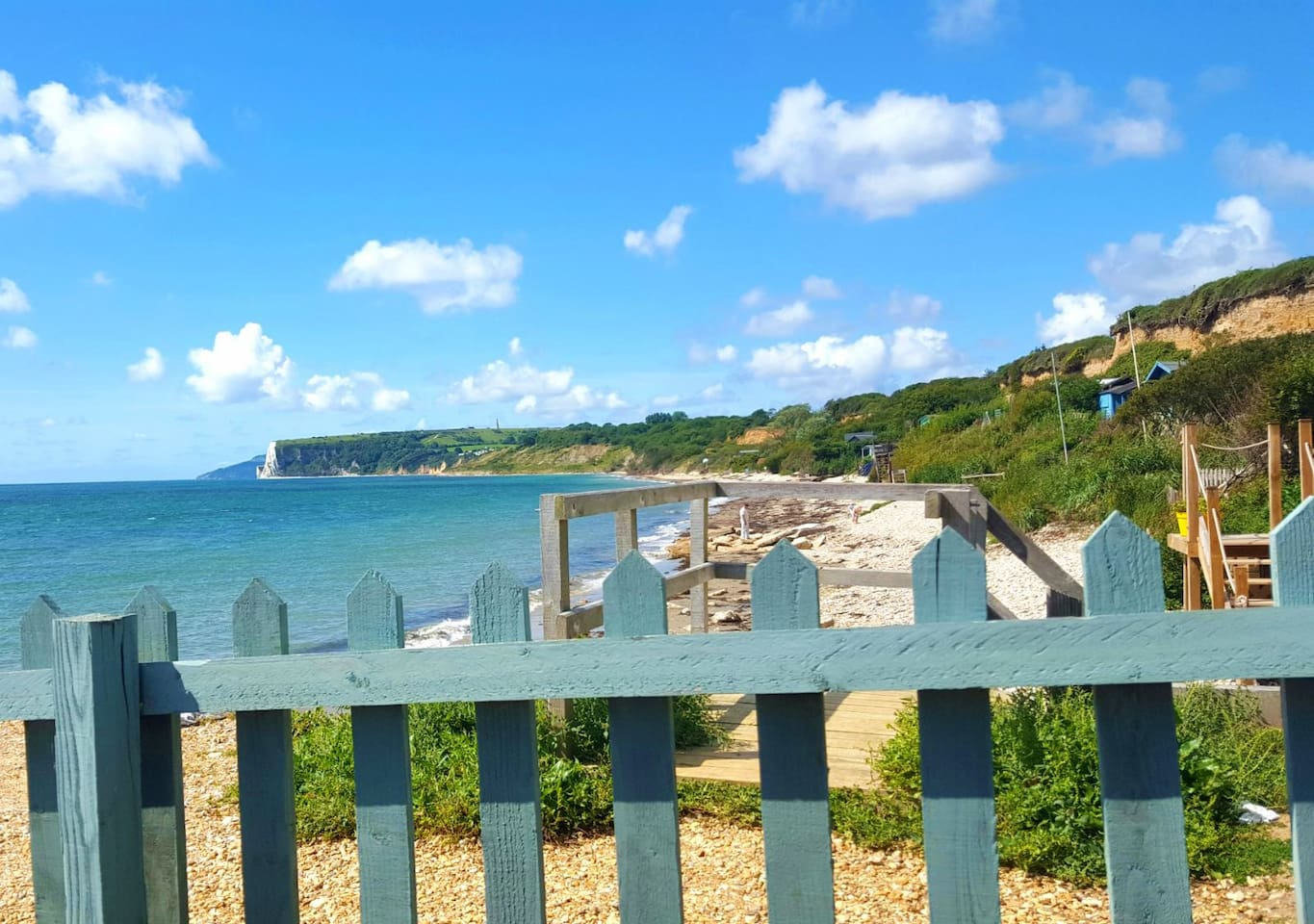 Isle of Wight, Bembridge - the beach is a mere 5 minute walk away.