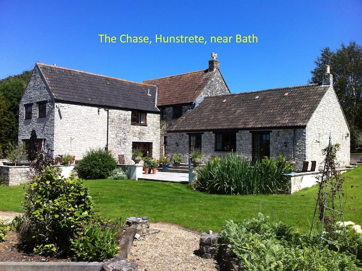 Country House-'The Green Room' in Hunstrete Bath