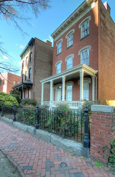 Cathedral Place was built in the late 19th century originally as a residence one of Richmond's prominent families