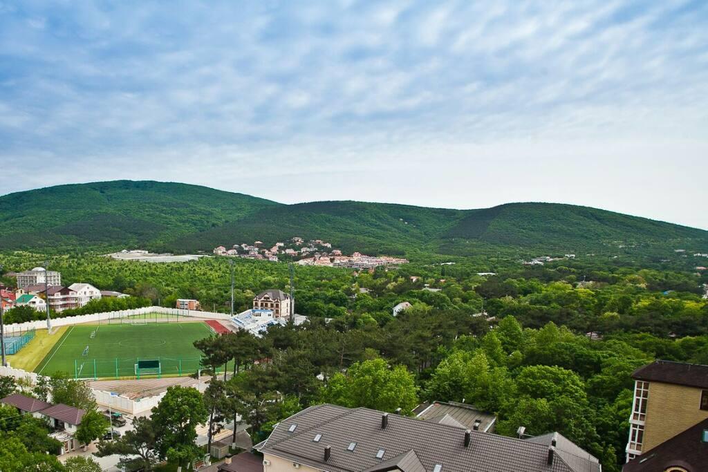 Вид на поселок Кабардинка