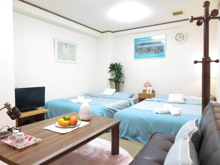 【B】Namba 6mins Big Room/Up to 8ppl