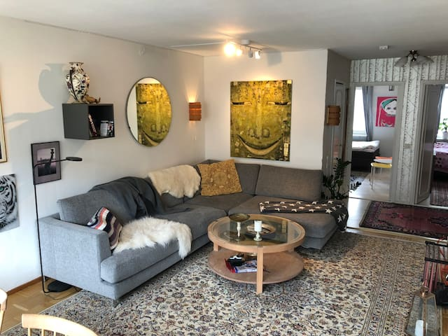 Living room .....with big sofa and Netflix :-)))