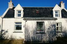 Cottage on Isle of Raasay, next to Skye.