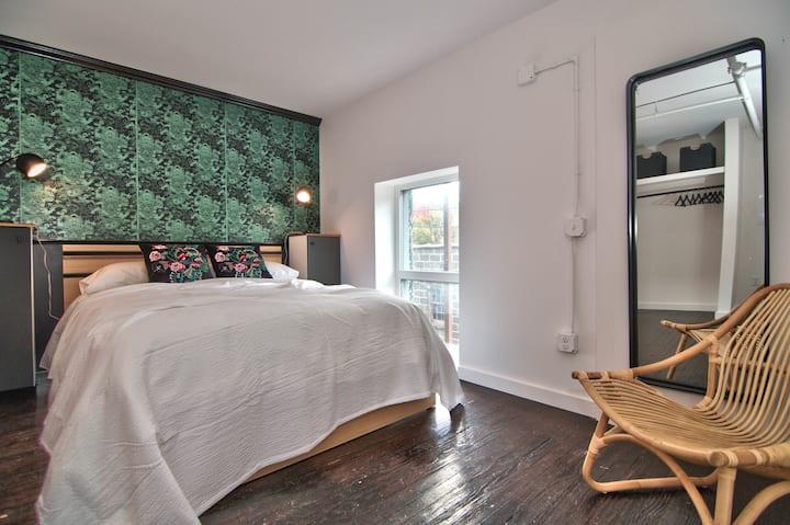 Wonder Honesdale- Loft B2-3 bedroom -2 baths– sleeps 6