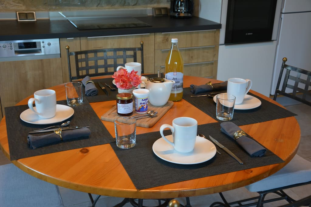 Gîte Etoile Boréale - cuisine