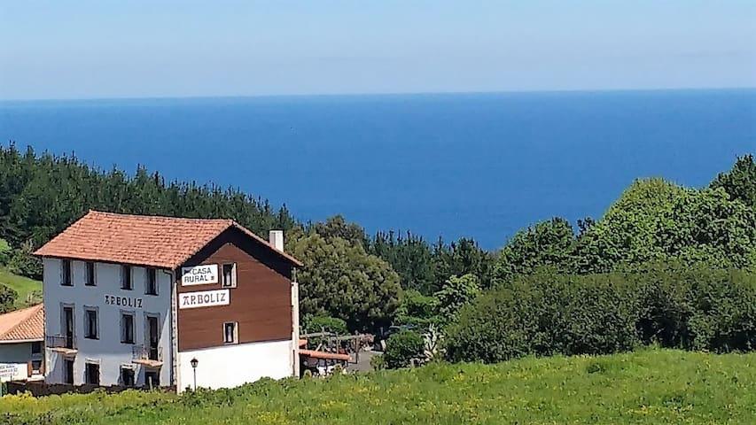 Habitación doble en casa rural Arboliz 204