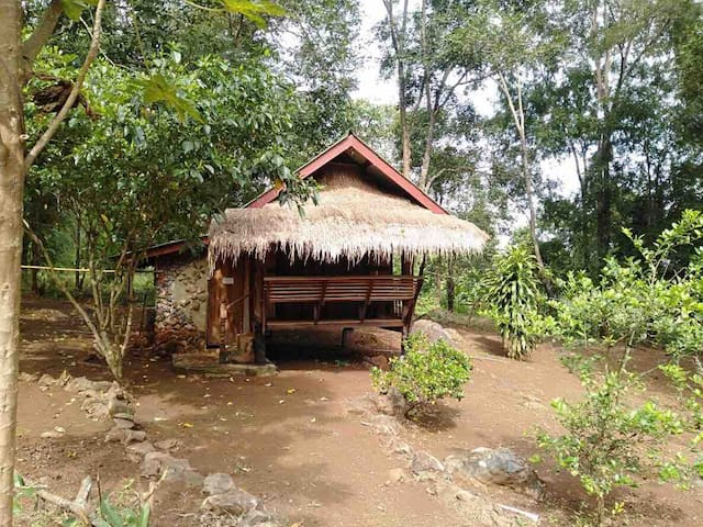 Cute Bamboo Bungalow Erawan N.Park Shanti Farm