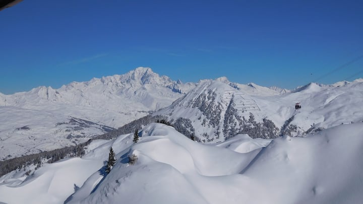 "La Plagne ""Chez Val"" for 2 to 4 people"