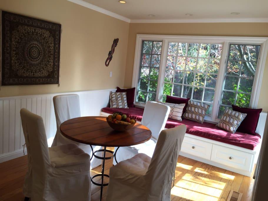 dining room - adjacent to kitchen