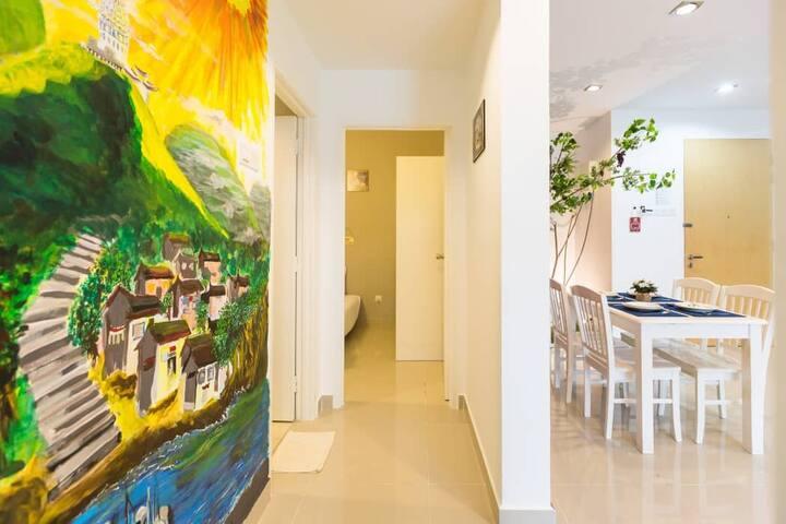 홓ㄹ홓ㄹ챠ㅐㅐㅕㅎㅎ 壁画公园 House elevators directly to market