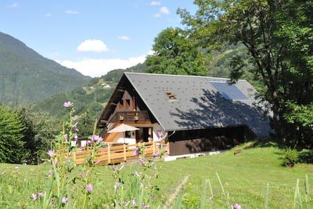 Outrechenais, Chambre de 2 dans chalet en montagne - Queige