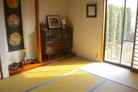 Tatami room in Tokyo Suburb