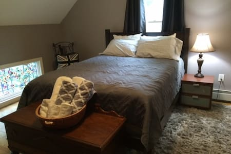 3 room suite, 24 miles to Boston - North Andover - Hus