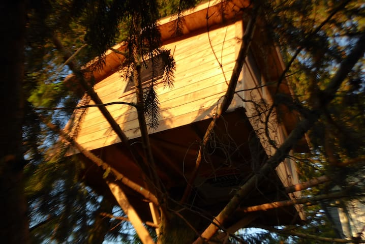 Tree Fort at Peaceful Farmhouse