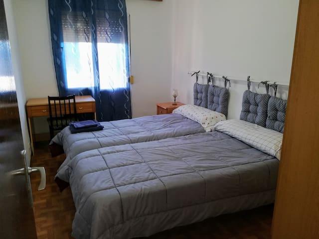 Habitacion piso compartido.