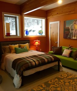 Suite with a Sweet view, The Kiva at Meadow & Fern - Shelburne Falls