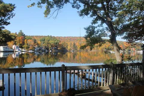 Immaculate year-round lakefront at Highland Lake