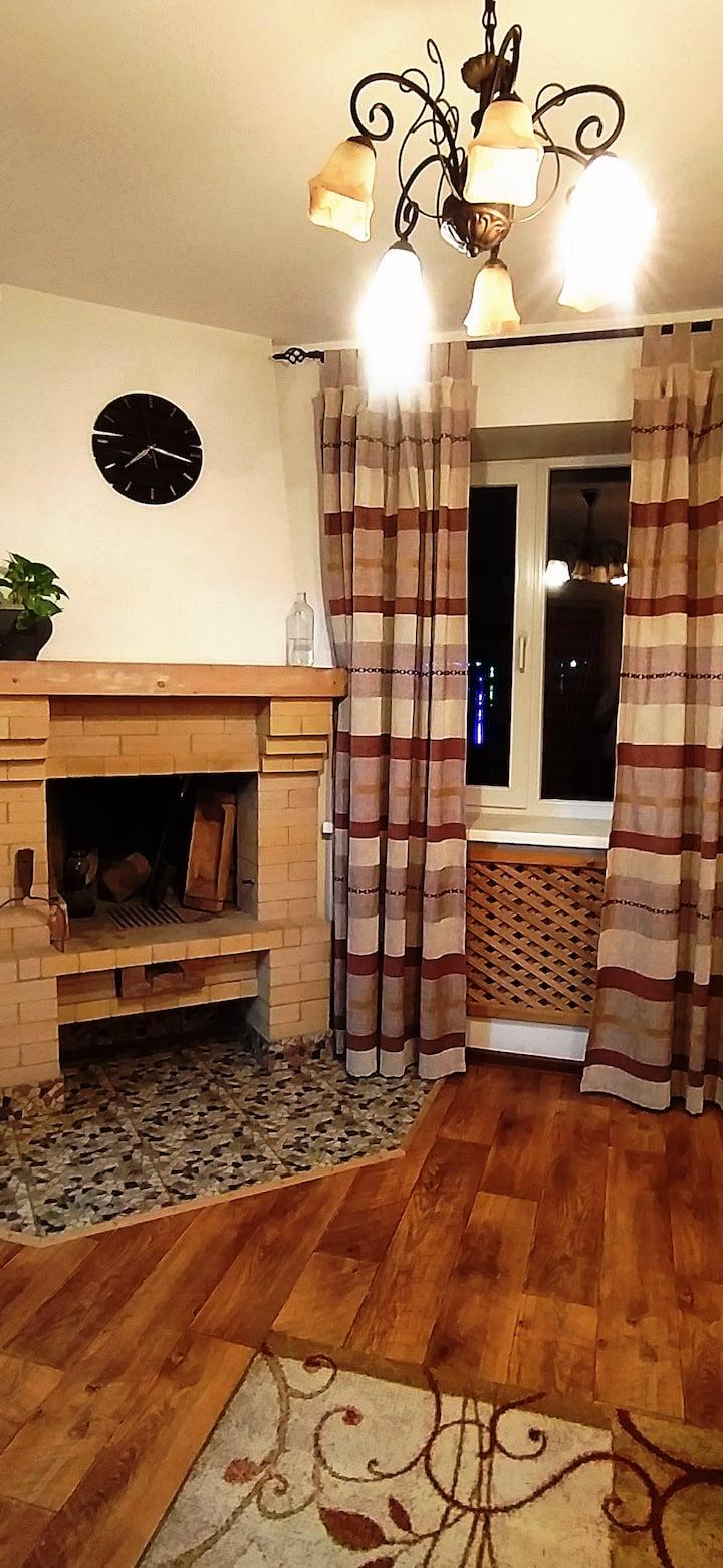 Деревенская квартирка